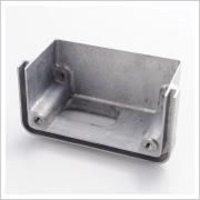 薄肉鋳造0.6mmアルミダイカスト部品 鋳造⇒バリ取り⇒機械加工