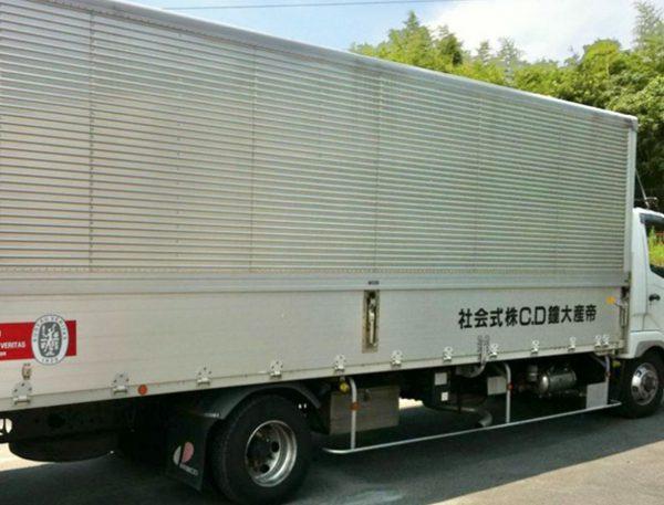 帝産大鐘ダイカスト工業 配送システム
